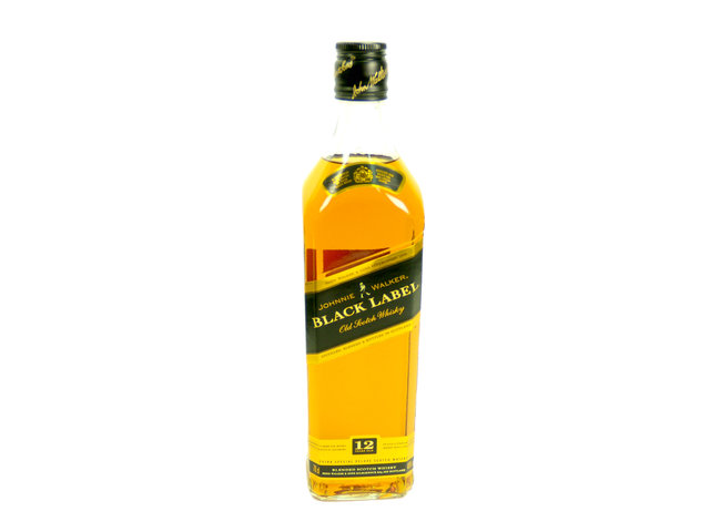Wine Champagne Liquers - Johnnie Walker Black Label Old Scotch Whisky - P2030 Photo