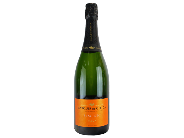 Wine Champagne Liquers - Marques de Gelida Semi sec CAVA - L134852 Photo