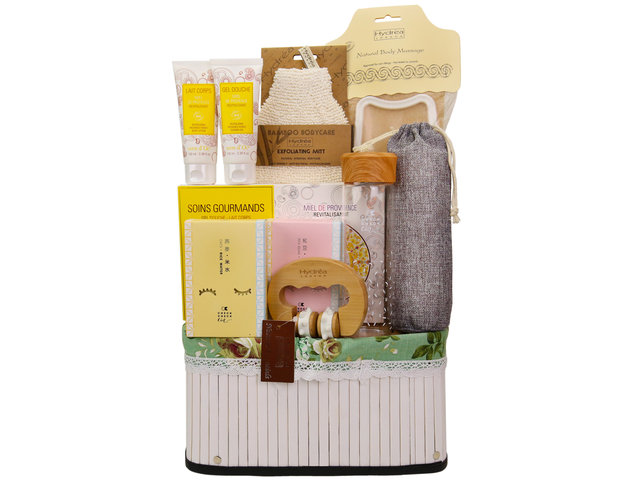 Wine n Food Hamper - CheckCheckCin Health Relax gift sets CC03 - RH1128A2 Photo