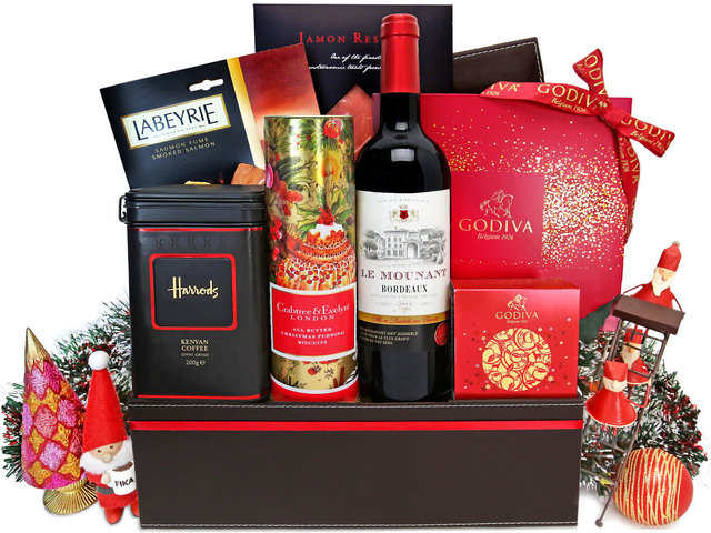 Wine n Food Hamper - Christmas Gift Hamper X23 - XH1123A1 Photo