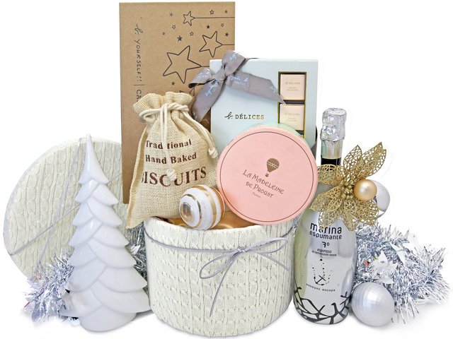 Wine n Food Hamper - Christmas Gift Hamper X5 - XH1117A4 Photo