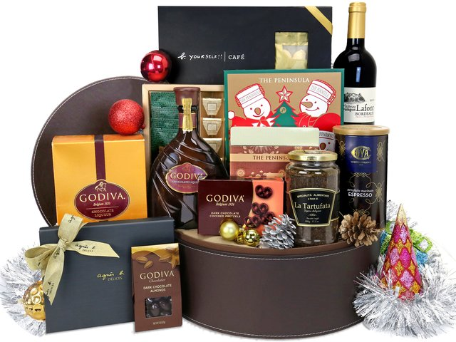 Wine n Food Hamper - Christmas Hamper X4 - XH1106A1 Photo