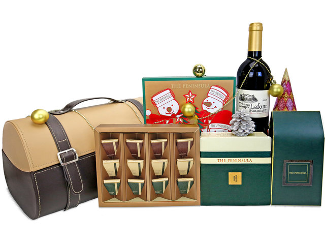 Wine n Food Hamper - Christmas Peninsula Hamper X2 - XH1106A4 Photo
