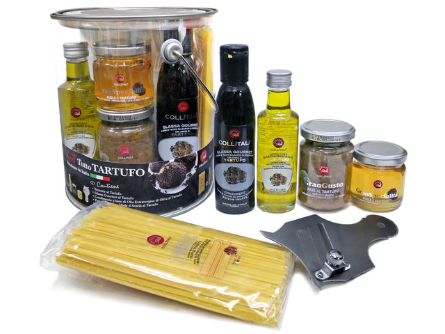 Wine n Food Hamper - Collitali All Truffle Kit - L36671222 Photo