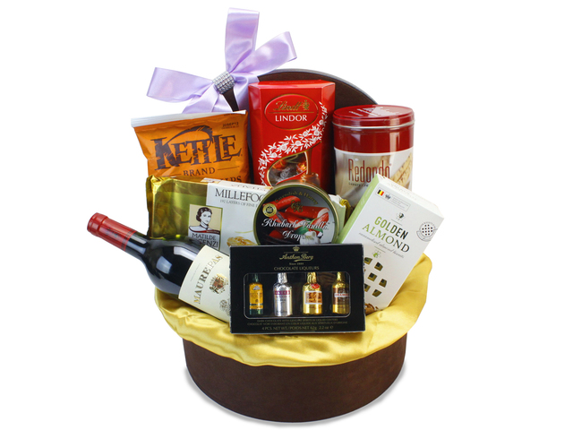 Wine n Food Hamper - Food Hamper N6 - L83426 Photo