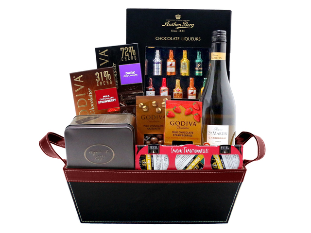 Wine n Food Hamper - Food gift hamper G8 - L76600557 Photo