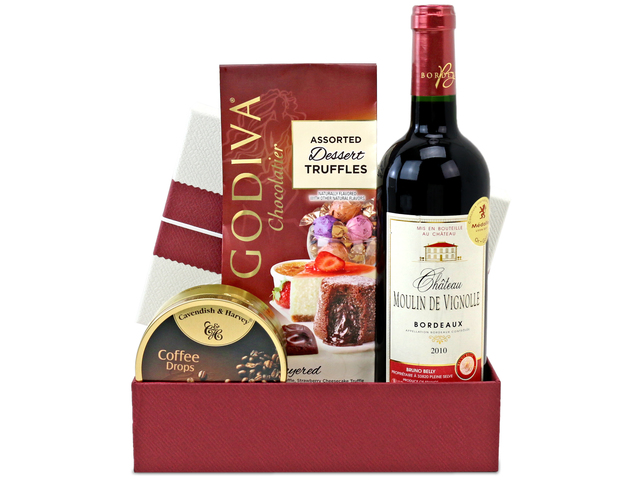 Wine n Food Hamper - Gift Hamper A2 - L76606415 Photo