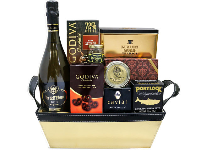Wine n Food Hamper - Gift Hamper A4 - 0S0828A4 Photo