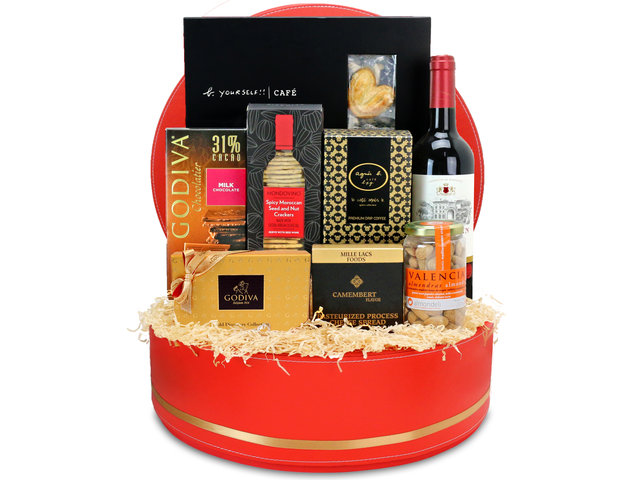 Wine n Food Hamper - Gift Hamper G44 - L76606726 Photo
