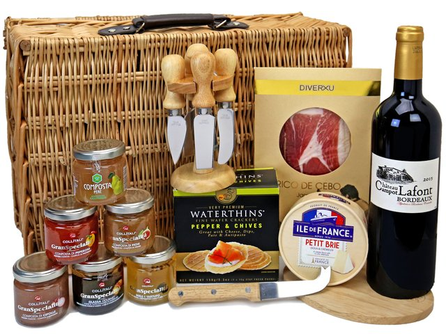 Wine n Food Hamper - Gift Hamper G46 - TNP0321A6 Photo