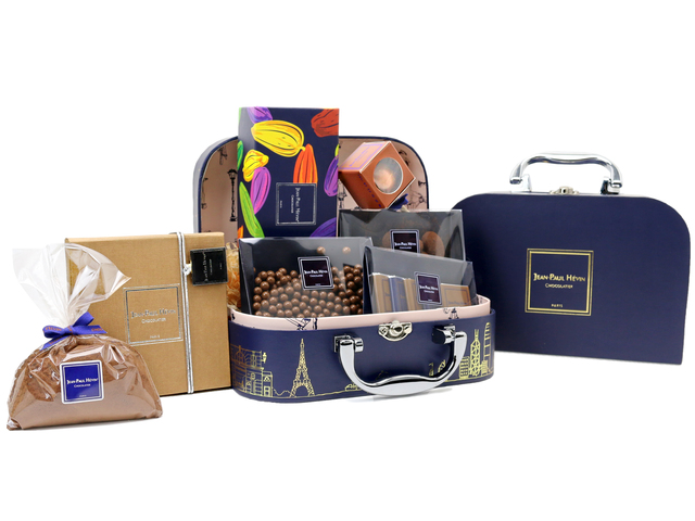Wine n Food Hamper - JEAN-PAUL HEVIN Gift Sset J3 - L76606560 Photo