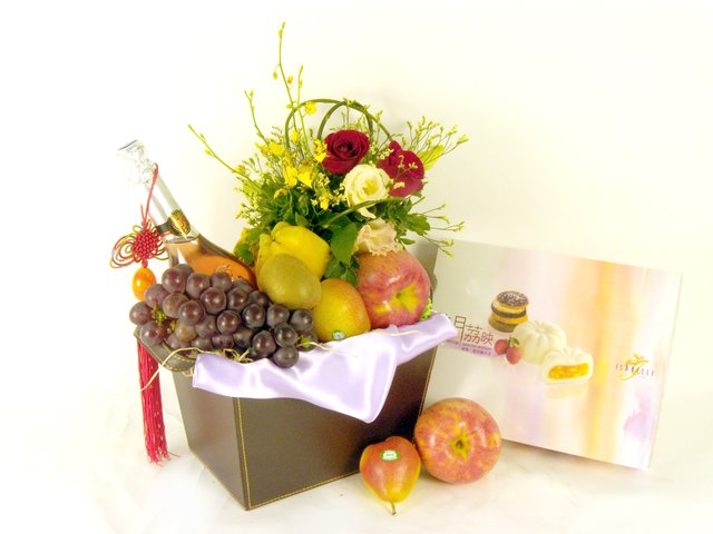 Wine n Food Hamper - Mid-Autumn Gift Set (F4) - P17766 Photo
