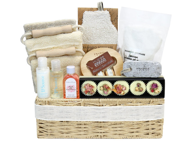 Wine n Food Hamper - Relax gift sets R24 - RH1227A1 Photo