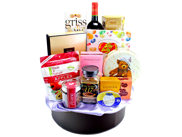 Wine n Food Hamper - Wine Food Gift Hamper C10 - L133047 Photo