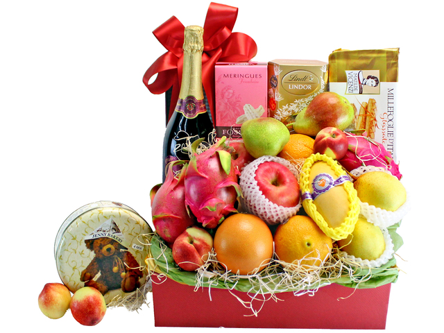 Wine n Food Hamper - Wine Food Gift Hamper C14 - L133133 Photo