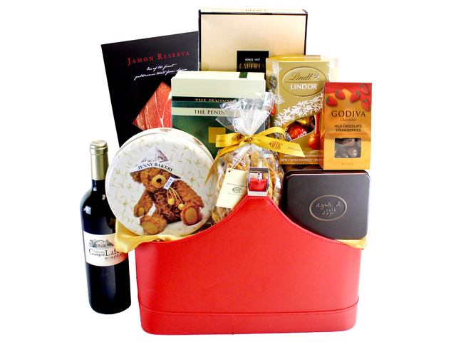 Wine n Food Hamper - Wine Food Gift Hamper C2 - L132325 Photo