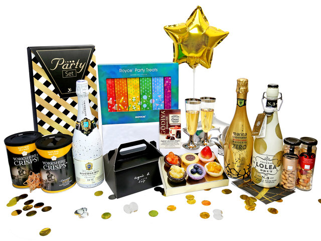 Wine n Food Hamper - Wine Food Gift Hamper C34 - HR0313A5 Photo
