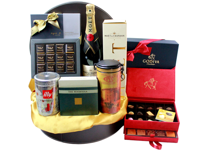 Wine n Food Hamper - Wine Food Hamper 9 - L32603 Photo