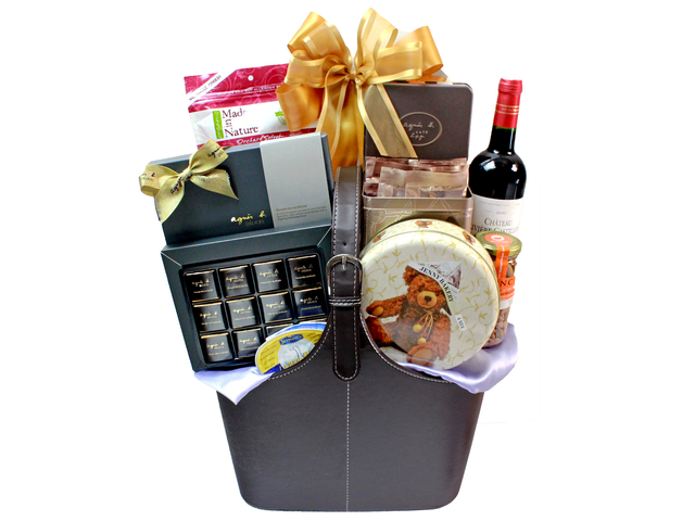 Wine n Food Hamper - Wine Food Hamper H - L32620 Photo