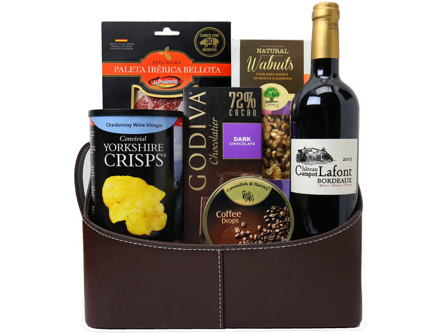 Wine n Food Hamper - Wine Food Hamper P8 - L160899 Photo