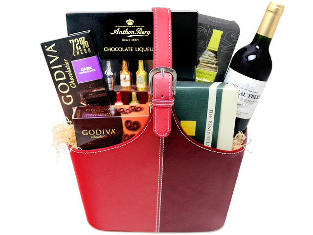 Wine n Food Hamper - Wine food hamper G4 - L7660035 Photo