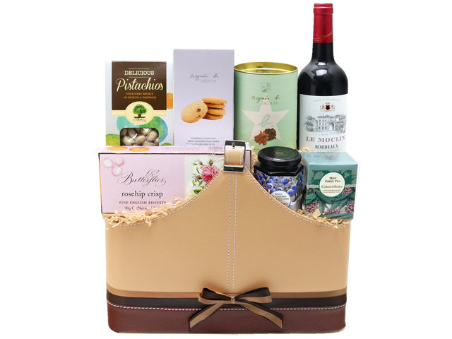 Wine n Food Hamper - Wine food hamper G5 - L76600375 Photo