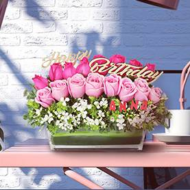 Birthday Flower Gift Hamper