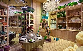 Guangzhou Florist GGB Flower Shop Interior 1