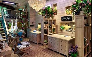 Guangzhou Florist GGB Flower Shop Interior 2