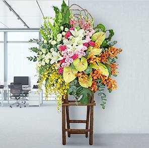 Hong Kong Send Flower Stand