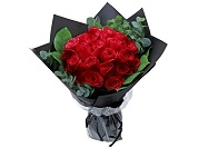 Italy Style Red Rose Bouquet Florist