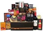Wine Food Chocolate Hamper