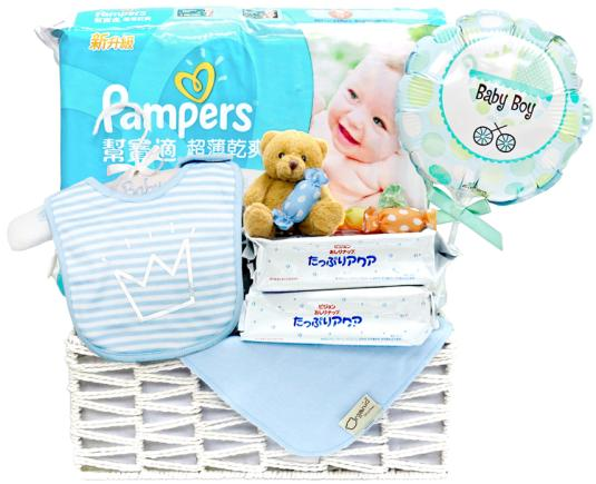 New Born Baby Gift Basket