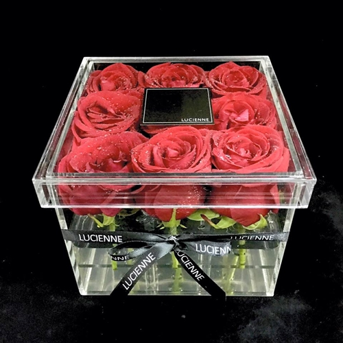 One-of-a-kind rose flower box