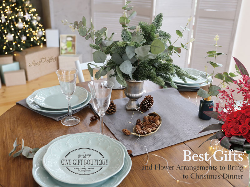 Best Gifts and Flower Arrangements to Bring to Christmas Dinner