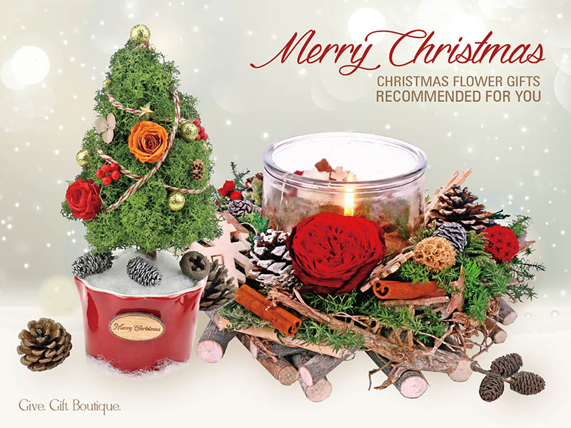 Christmas Flower Gifts Recommended for You
