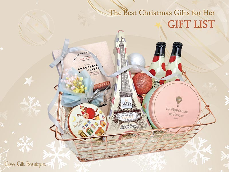 The Best Christmas Gifts for Her | Gift List