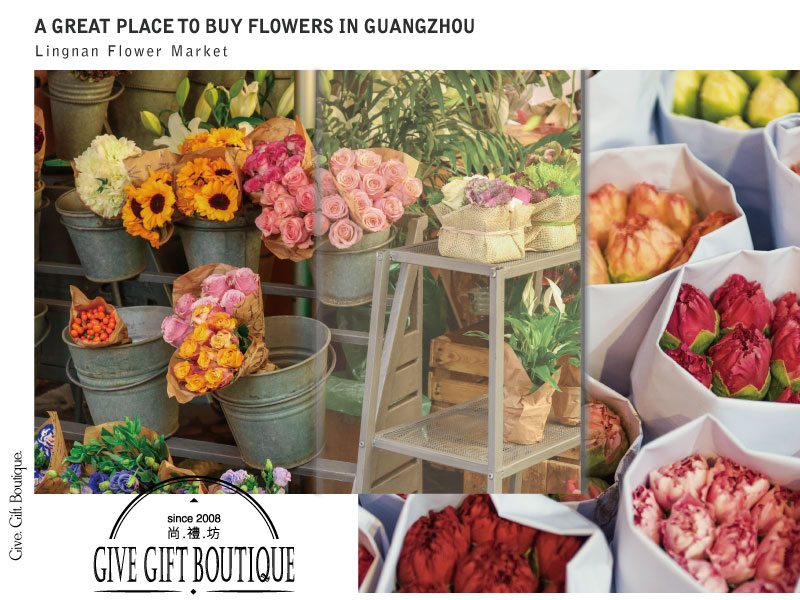A Great Place To Buy Flowers In Guangzhou-- Lingnan Flower Market