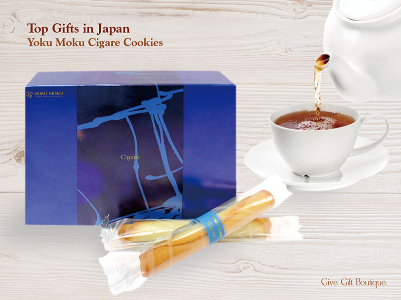 Top Gifts in Japan, Yoku Moku Cigare Cookies