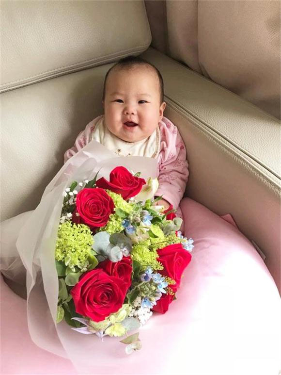 Babies And Flower Bouquets