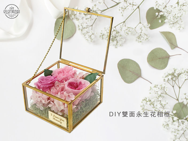 Preserved Flower Gift Box DIY Production Tutorial Picture+ Article+ Video