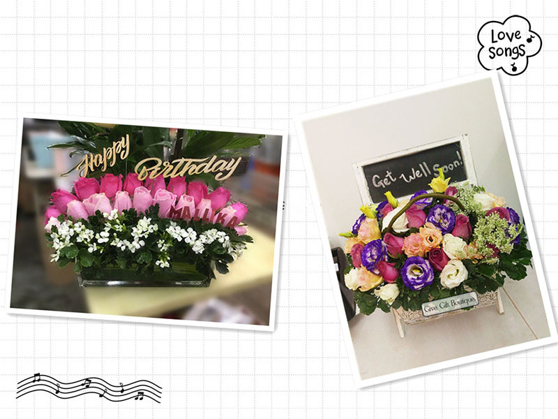 Hong Kong Give Gift Boutique Florist - Flower Delivery Info-Second week of April 2019