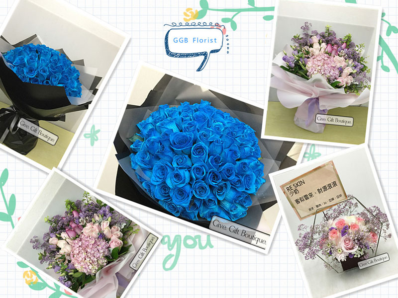 Hong Kong Give Gift Boutique Florist - Flower Delivery Info Fourth week of April 2019