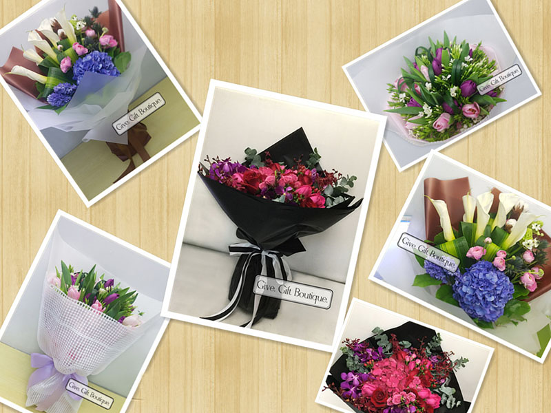 Hong Kong Give Gift Boutique Florist - Flower Delivery Info Second week of May 2019
