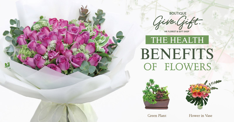 The Health Benefits of Flowers